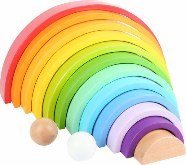 Regenbogen aus Holz