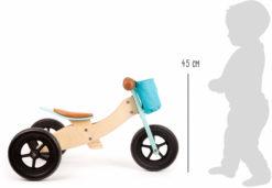 Laufrad-Trike Maxi 2 in 1 Türkis 6