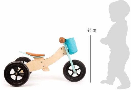 Laufrad-Trike Maxi 2 in 1 Türkis 3
