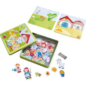 Haba Magnetspiel-Box Bauernhof 2