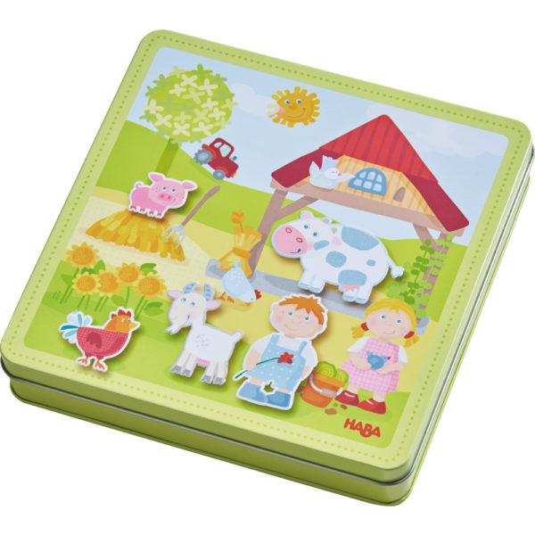 Haba Magnetspiel-Box Bauernhof 1