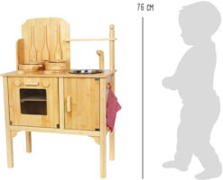 Kinderküche Bambus 6