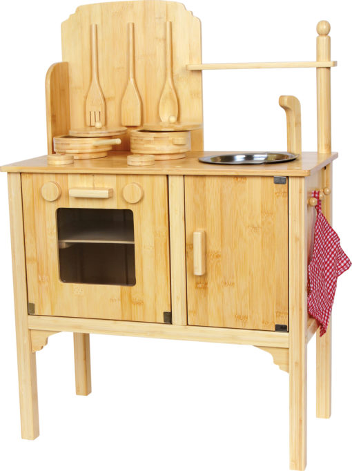 Kinderküche bambus