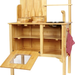 Kinderküche Bambus 1