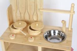 Kinderküche Bambus 5