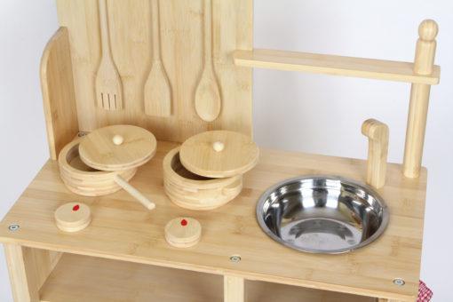Kinderküche Bambus 2