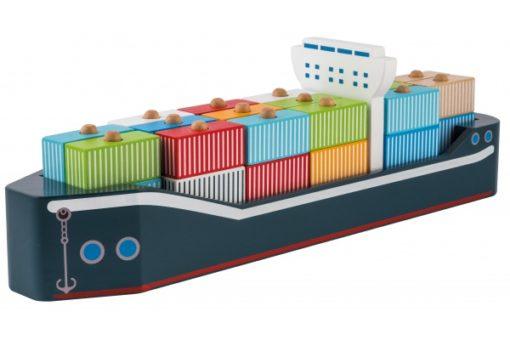 Joueco Containerschiff 1