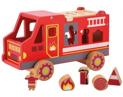 Joueco Feuerwehr Steckbox 1