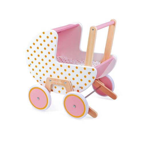 "JANOD Puppenwagen aus Holz ""Candy Chic"" 2"