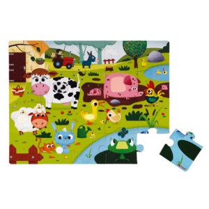 JANOD Puzzle Bauernhof 2