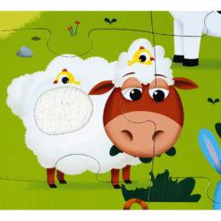 JANOD Puzzle Bauernhof 6