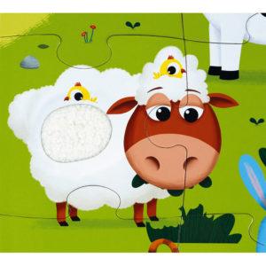 JANOD Puzzle Bauernhof 3