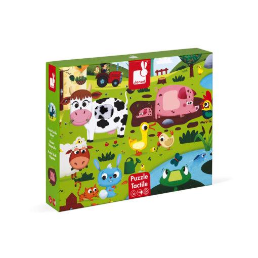 JANOD Puzzle Bauernhof 1