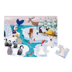 JANOD Puzzle Im Eis 3
