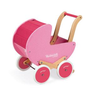 """JANOD Puppenwagen aus Holz """"Mademoiselle"""" 4"""
