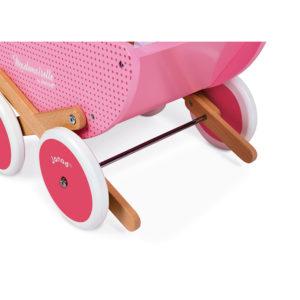 """JANOD Puppenwagen aus Holz """"Mademoiselle"""" 2"""
