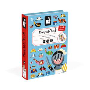 JANOD Magnetbuch Buben 4