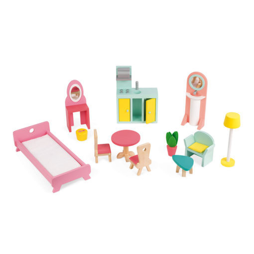 "JANOD Puppenhaus Maxi ""Happy Day"" 2"