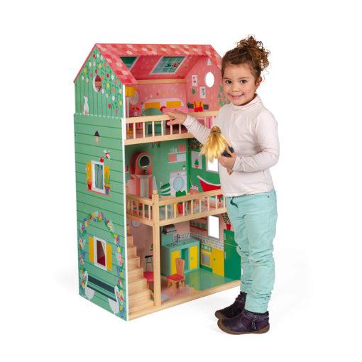 "JANOD Puppenhaus Maxi ""Happy Day"" 4"