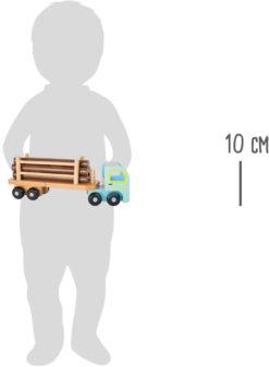 Holztransporter für Kinder 8