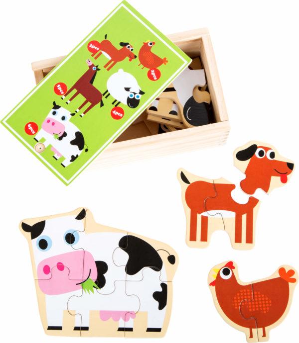 Puzzlebox Bauernhof 1