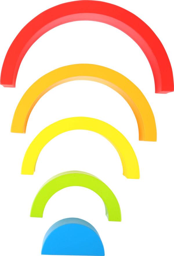 Regenbogen aus Holz klein 3