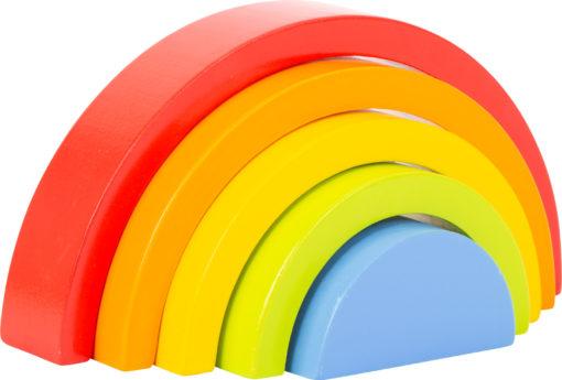 Regenbogen aus Holz klein 1