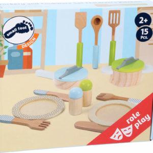 Topf- und Geschirrset Kinderküche 3