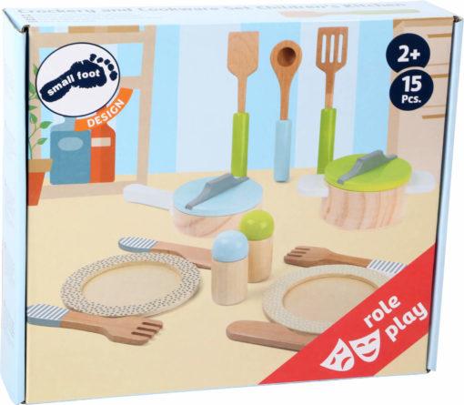 Geschirr- und Topfset Kinderküche 2