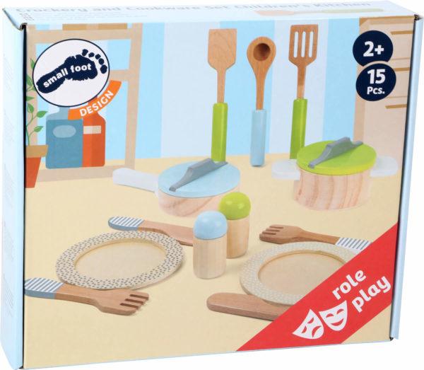 Geschirr- und Topfset Kinderküche 3