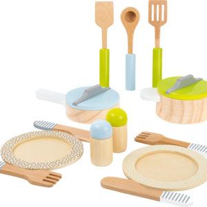 Topf- und Geschirrset Kinderküche 5