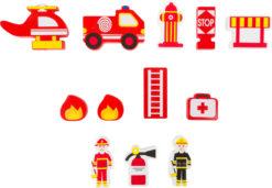 Spielkoffer Feuerwehr 6