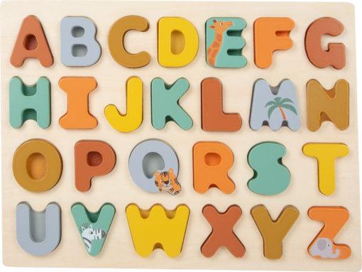 Setzpuzzle ABC Safari 1
