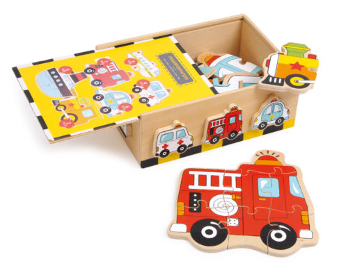 Puzzlebox Fahrzeuge 1