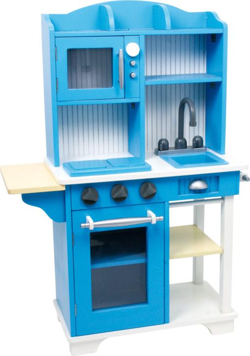 Spielküche Landhaus blau 1
