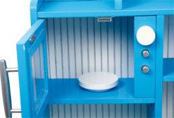 Spielküche Landhaus blau 9