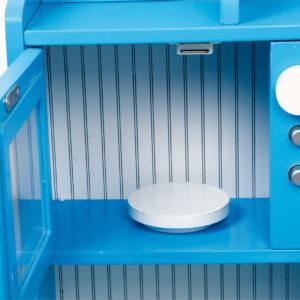 Spielküche Landhaus blau 5