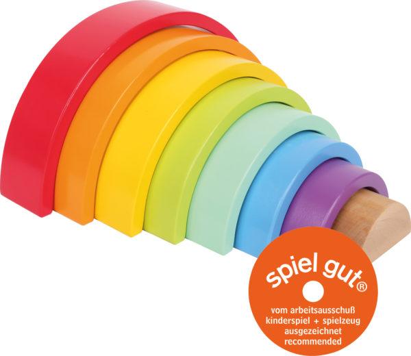 Regenbogen aus Holz mittel 1