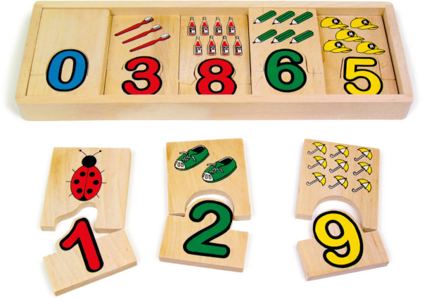 Zahlen-Zuordnung 1