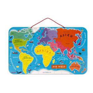 """JANOD Magnetische Landkarte """"Die Welt"""" 2"""
