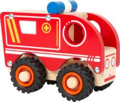 Krankenwagen aus Holz 3