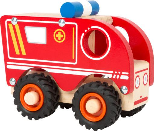 Krankenwagen aus Holz 1