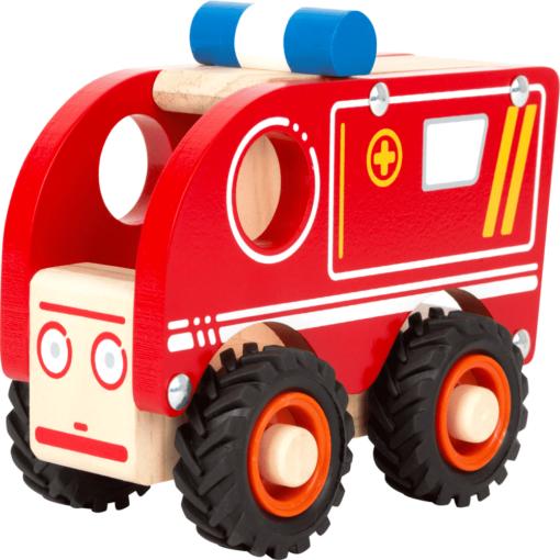 Krankenwagen aus Holz
