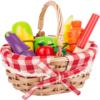 Einkaufskorb für Kinder mit Schneide-Lebensmittel 6