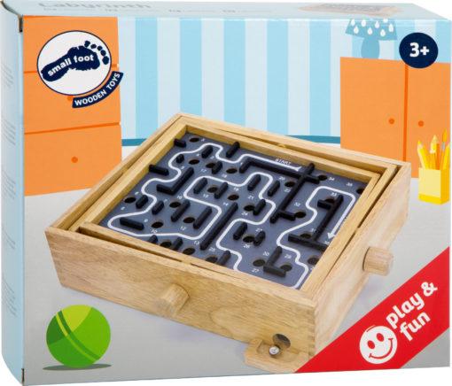 Labyrinth aus Holz 1