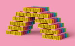 """bioblo BIG BOX """"Multi-Mix"""" mit 340 Bausteinen 6"""