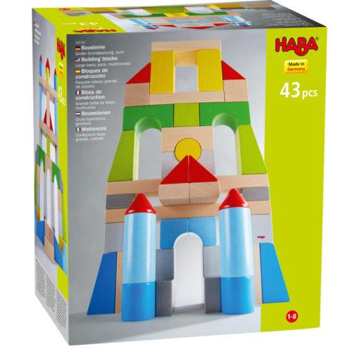 HABA Bausteine Große Grundpackung bunt 1
