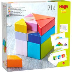 HABA 3D-Legespiel Tangram Würfel