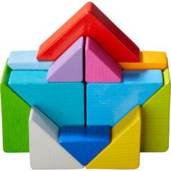 HABA 3D-Legespiel Tangram Würfel 10