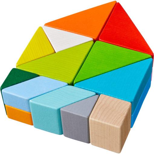 HABA 3D-Legespiel Tangram Würfel 3